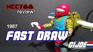 HCC788 - 1987 FAST DRAW - Mobile Missile Specialist - G.I. Joe toy review!