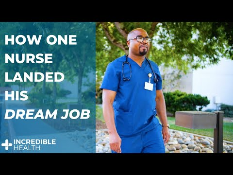 How One Nurse Landed His Dream Job