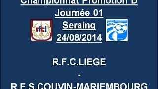 Résumé RFC Liège Couvin