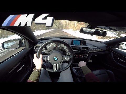 BMW M4 MANUAL POV Test Drive by AutoTopNL