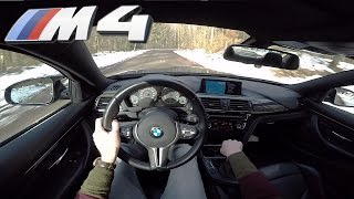 BMW M4 MANUAL POV Test Drive by AutoTopNL