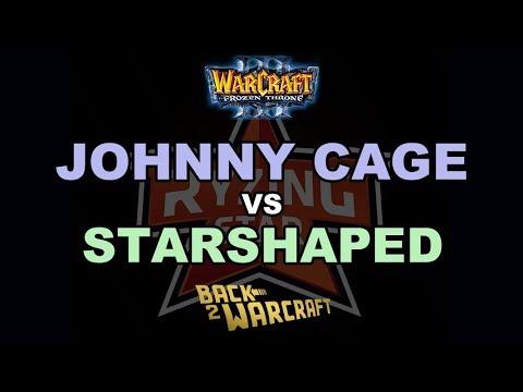 WC3 - Ryzing Star Cup #2 - SF: [HU] JohnnyCage vs. StarShaped [NE]