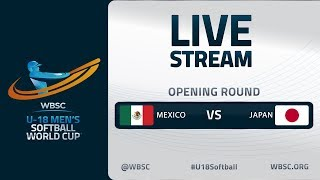 Mexico v Japan - U-18 Men's Softball World Cup 2020 - Opening Round