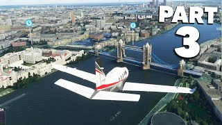 MICROSOFT FLIGHT SIMULATOR 2020 - FLYING OVER LONDON & MY HOME #3