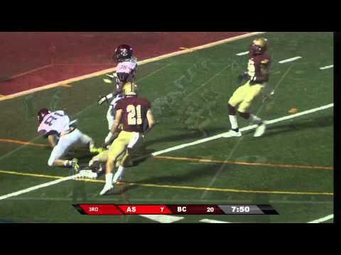 Bridgewater Football vs. Apprentice (9/19/15)