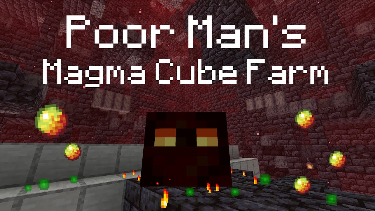 Poor Man S Magma Cube Farm Minecraft Magma Cream Farm 1 16 Youtube New* magma cream minion grinder | minecraft skyblock (5) hit that like button my this easy to build gold farm allows you to get gold, emeralds, ghast tears, and magma cream. poor man s magma cube farm minecraft magma cream farm 1 16