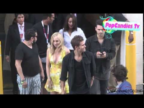 Download Ian Somerhalder & Nikki Reed with Sushi accompanied by Paul Wesley & Candice Accola 2015 Comic Con