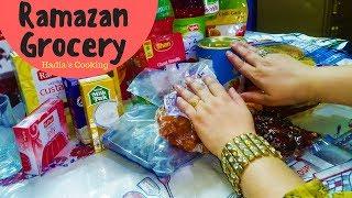 My Ramazan Grocery | Hadia