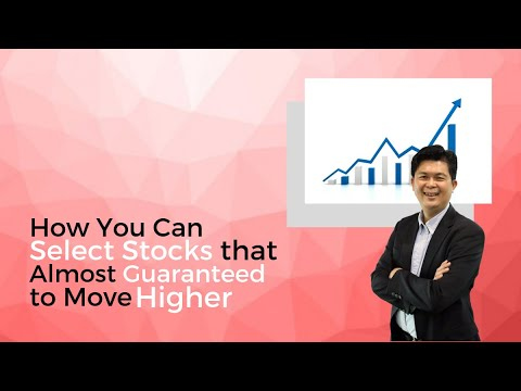 Select Stocks that Almost Guaranteed to Move Higher!