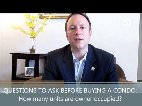 #7 Questions You Must Ask Before Buying a Condo: How many condos are owner occupied?
