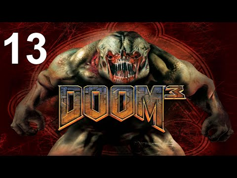 DOOM 3 [13/27] - Recycling - Sector 2: Waste Recycling Center | Let's Play Doom 3