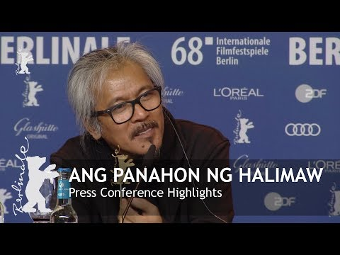 Ang Panahon ng Halimaw  Press Conference Highlights  Berlinale 2018