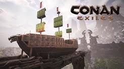Conan Exiles - How to Build a Pirate Ship ⛵