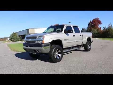 "Review~2004 Chevrolet Silverado Crew LT 4x4~Duramax Diesel~35"" Tires~FANTASTIC!"