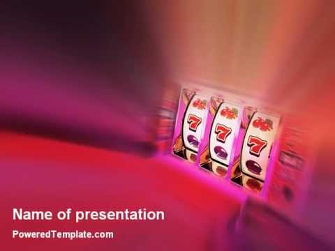 Free slot machine powerpoint template