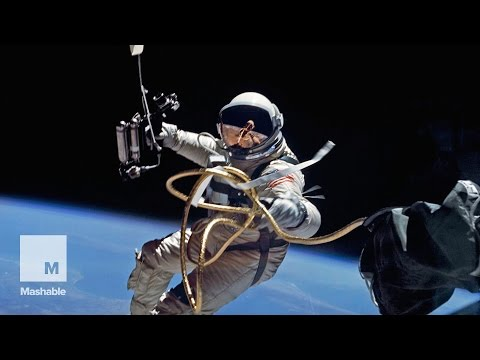 The first spacewalk by an American   Mashable