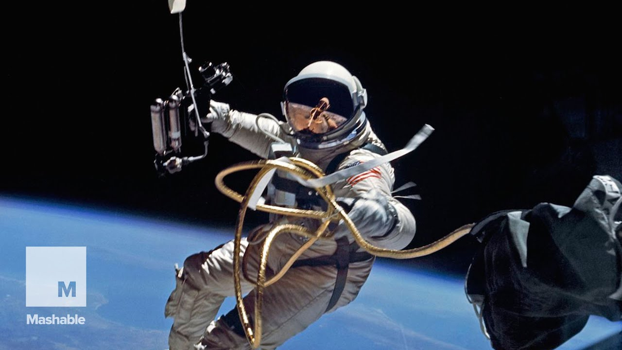 The first spacewalk by an American | Mashable - YouTube