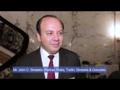2016 New York Maritime Forum - Interview with Mr. John C. Stratakis