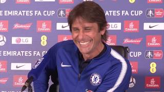 Conte: 'FA Cup Final will be my last Chelsea game - this season!'
