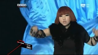 Mama 2010 macao 2NE1 투애니원 Clap your hands 박수쳐 live