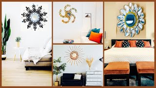 4 Easy Wall Mirror Ideas To Make Your Living Space Lovely| Gadac Diy| Room Decorating Ideas