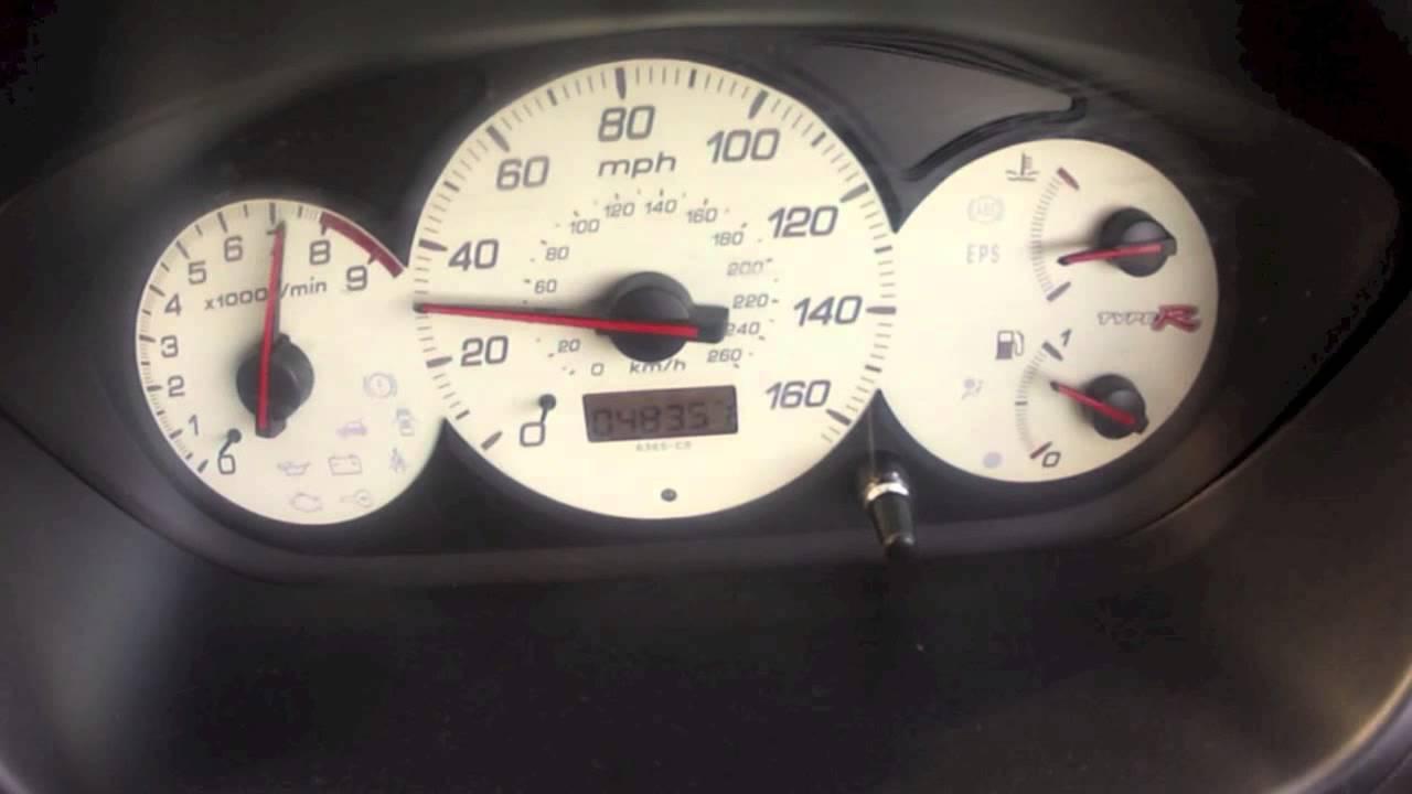 Ep3 2005 Honda Civic 0 To 60 Mph Stock Uk Car