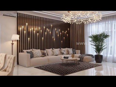 Elegant and stylish living room interior design