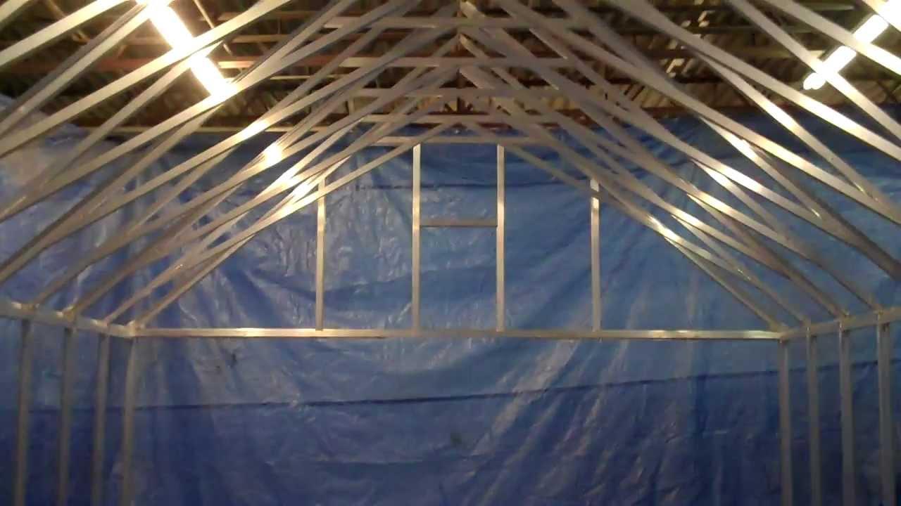 Greenhouse Scissor Truss Engineering   Arcadia GlassHouse