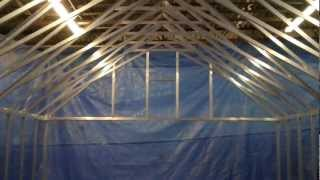 Greenhouse Scissor Truss Engineering