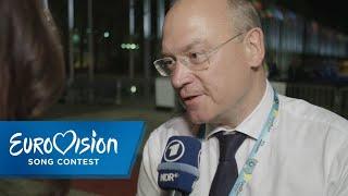 Schreiber freut sich über Schultes Resultat | Eurovision Song Contest | NDR