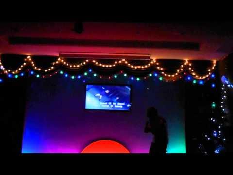 Karaoke in Yanggakdo Hotel   Part 2   Black or White   Pyongyang   North Korea   September 2013