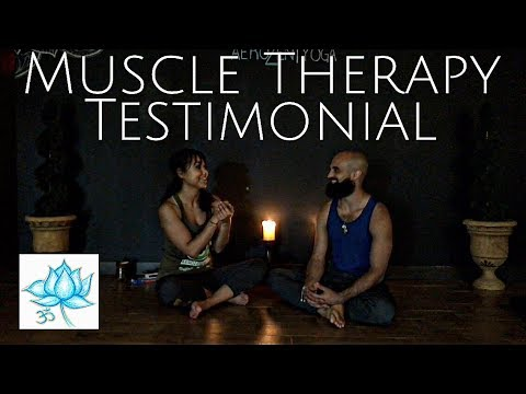Aerial Yoga Muscle Therapy Endorsement