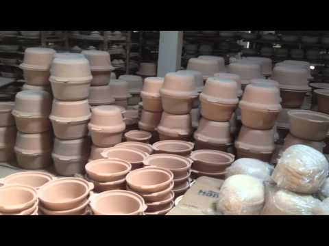Visit to a clay pot making factory - Clay Craft Malaysia - YouTube