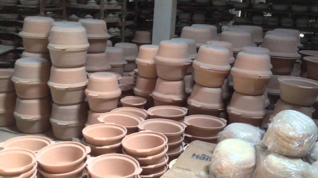 Visit To A Clay Pot Making Factory Clay Craft Malaysia Youtube