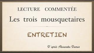 Урок французского языка. Entretien. Les trois mousquetaires