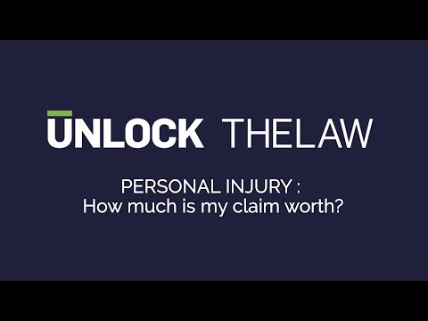 Personal Injury Claims How Much Is My Claim Worth