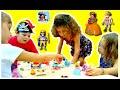 VLOG Выиграли в лотерею игрушку/ПРИНЦЕССЫ, пираты, принцы/День рождения туалета/Детская площадка 3/3