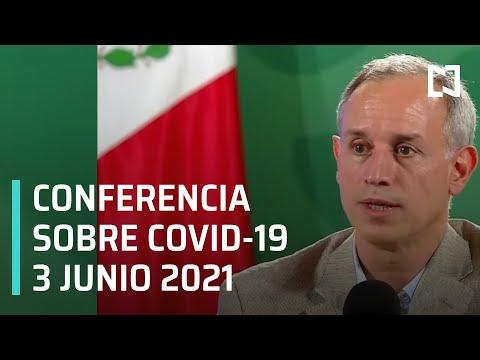 Informe Diario Covid-19 en México - 3 junio 2021