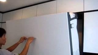Hdb-bishan 4rooms-queen V1530 Full Modular Set System.hidden Wall Bed,hidden Bed,wall Bed