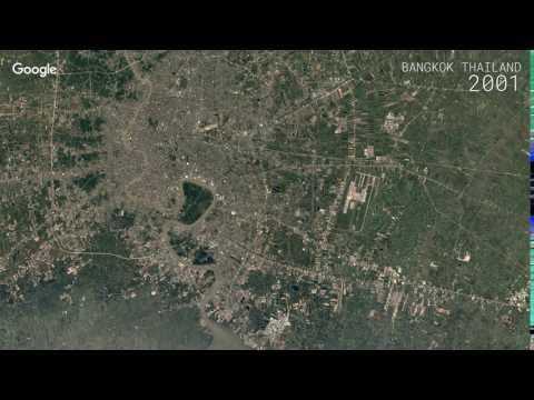 Google Timelapse: Bangkok, Thailand