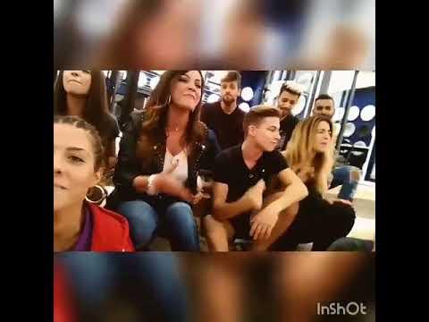 Miriam se graba cantando con Merche, Raoul,  Mimi, Ricky, Agoney, Nerea y J Antonio Ana 3-11-17 thumbnail