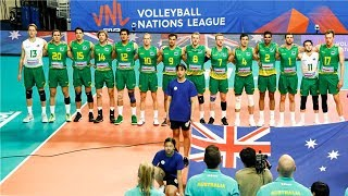 Australia National Volleyball Team | Unbelievable Moments | VNL - 2018