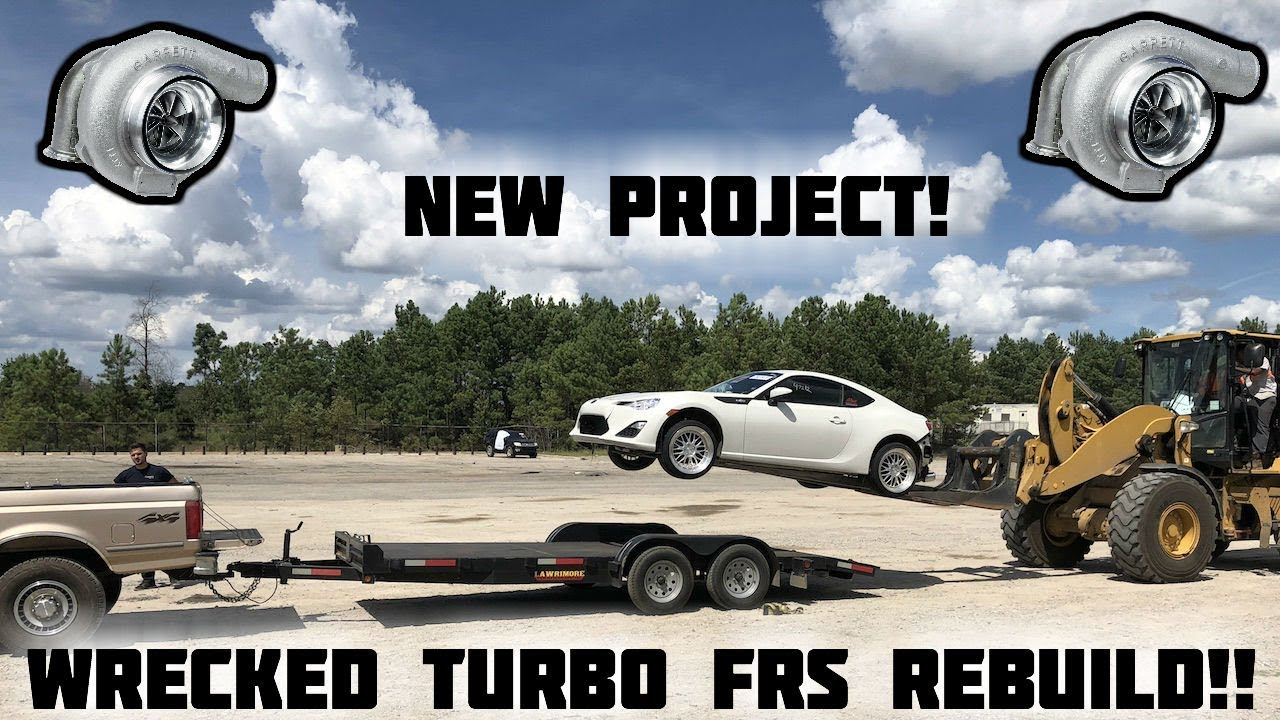 hight resolution of rebuilding a wrecked turbo scion frs part 1