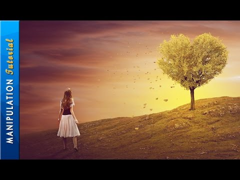 Photo Manipulation Tutorial - Tree Of Heart - Photoshop CC Tutorial