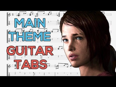 The Last of Us - Main Theme Guitar Tutorial | Guitar Lesson + TABS