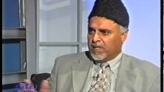 Interview Mirza Ghulam Ahmad sahib at Jalsa Salana Germany 2002