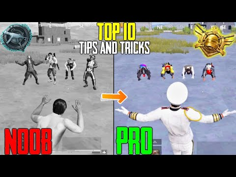 Download NOOB TO PRO   Top 10 Tips and Tricks   PUBG MOBILE (Hindi) Part-1