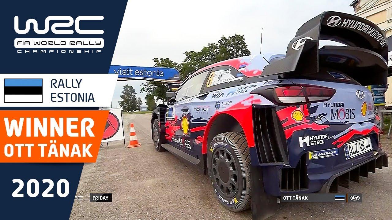 WRC - Rally Estonia 2020: WINNER Ott Tänak