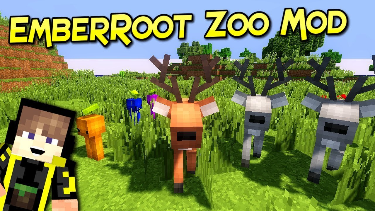 EmberRoot Zoo Mod For Minecraft 112.11212.12  PC Java Mods