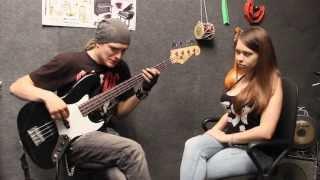 Никита Школа Бас Гитары - урок№10 (полифония, выбор первого инструмента)